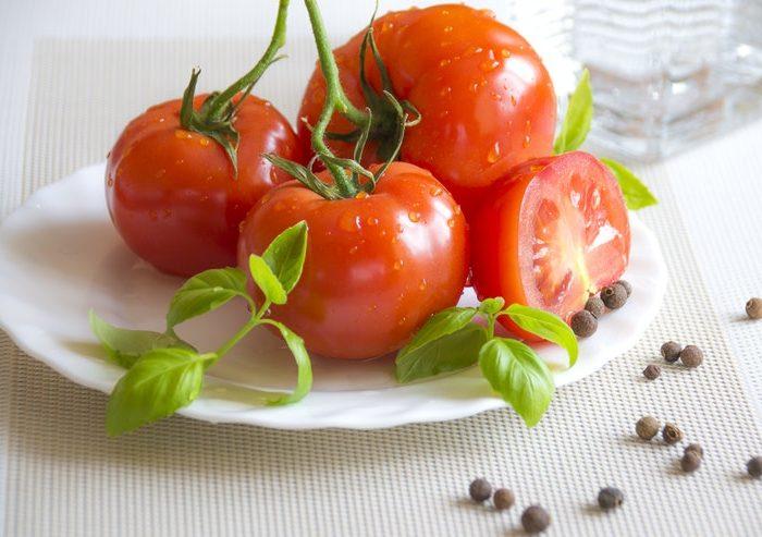 gardening and tomatoes